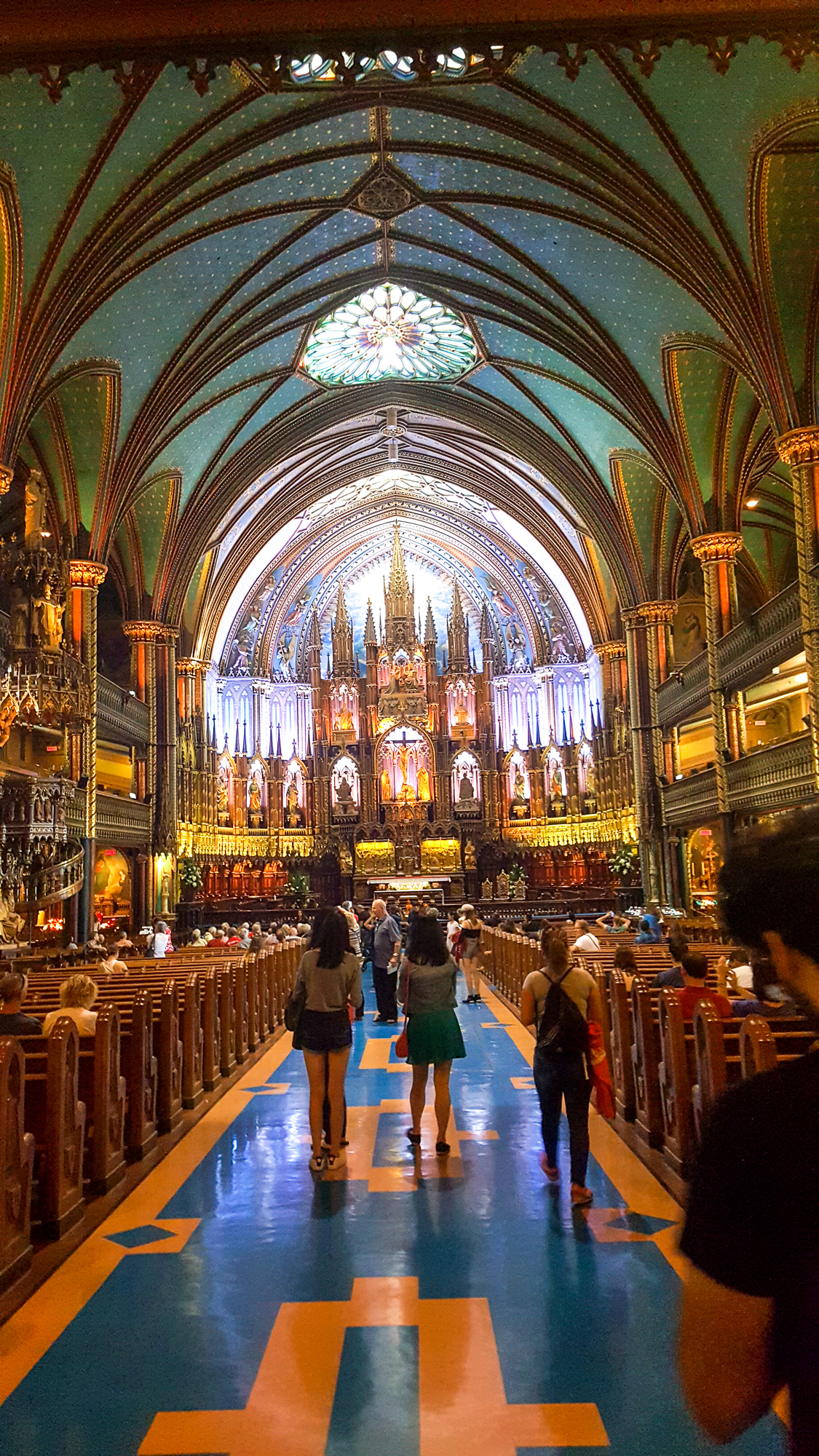 Notre Dame in Montreal